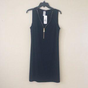 MSK black knee length dress. Medium